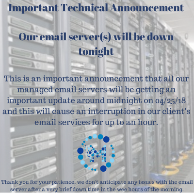 Technical Announcement